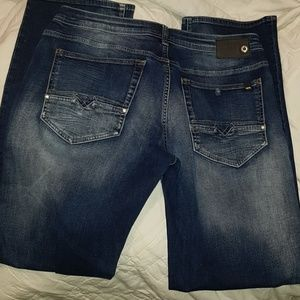 Men's 34 x 34 stretch straight Buffalo men's jeans